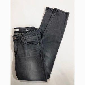 NWOT Big Star Alex Crop Gray Jeans